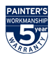 Dulux 5 Year Warranty